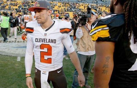 manziel benched was johnny manziel benched for lying to the browns