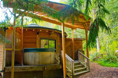 Stormking Spa And Cabins by Wolf Cabin At Mt Rainier
