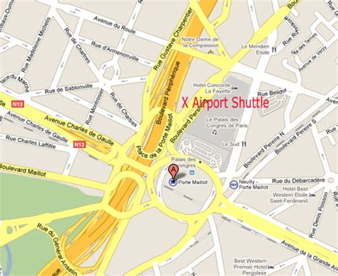 porte maillot metro map beauvais arrivals and departures by shuttle