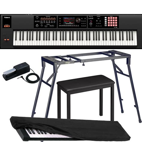 Keyboard Roland Fa 08 roland keyboard fa 08 workstation with 4 legged stand 4 legged bench roland dp 10 pedal