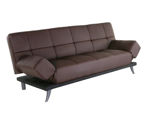abbyson living fusion leather convertible sofa ab ad 018l