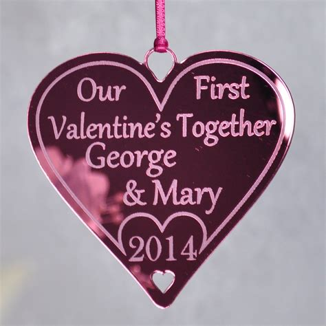 valentines together personalised couples s together