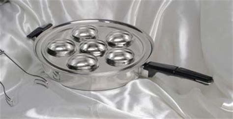 Fry Pan Egg Poacher 6 Holes american waterless cookware cooking the healthy greaseless way