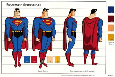 eclectorama superman the animated series style guide