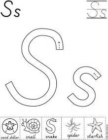 Preschool Letter S Worksheet » Ideas Home Design