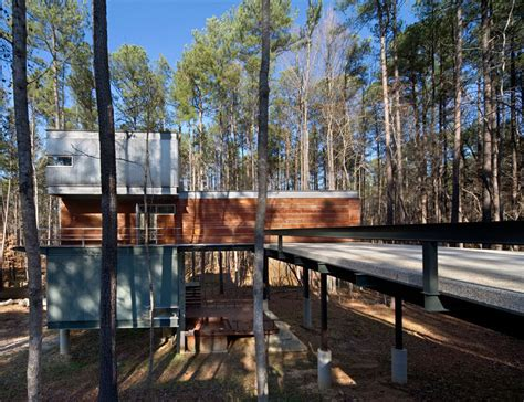 forest house 18 modern houses in the forest contemporist