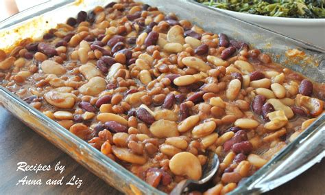 2 sisters recipes by anna and liz drunken baked beans
