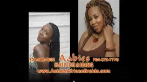 aabies african hair braiding aabies african hair braiding review charlotte nc youtube