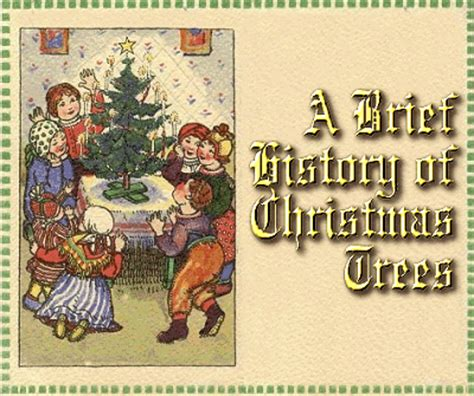 28 best history of christmas tree for the traditions