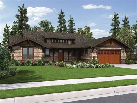 ranch craftsman house plans the meriwether craftsman ranch house plan