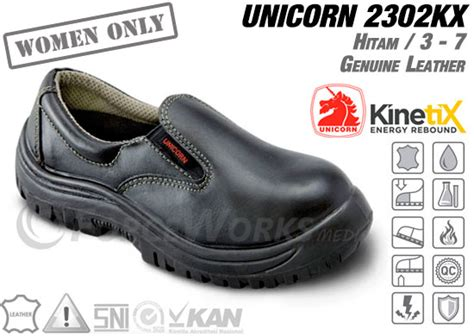 Sepatu Safety Unicorn 1602kx safety shoes unicorn 2302 kx series