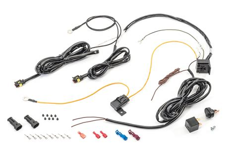 lightforce la127 driving light wiring harness quadratec