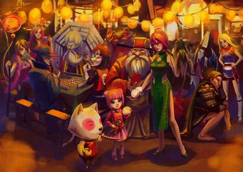 new year league of legends skins lol new year celebrate by lamierfang on deviantart