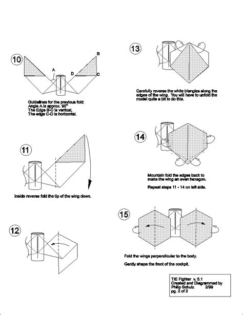 Tie Fighter Origami - image tie fighter origami