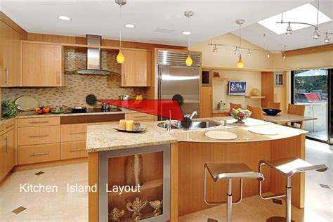 kitchen work islands kitchen work triangle island layout kitchen work