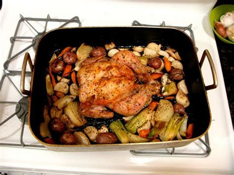 roast chicken root vegetables roasted chicken with root vegetables foodjunkie2