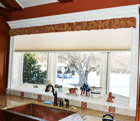 farmhouse window treatments rustic kitchen philadelphia by rosen interiors