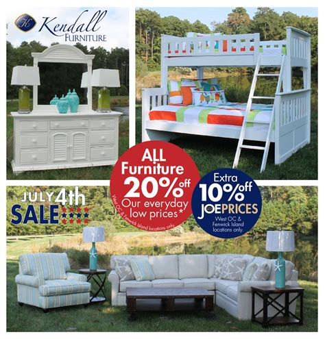 current promotions kendall home furnishings kendall