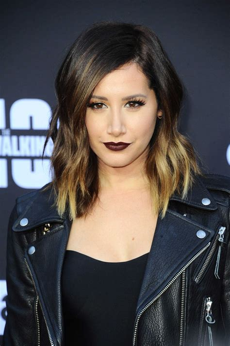 ashley tisdale ashley tisdale at the walking dead season 8 premiere in
