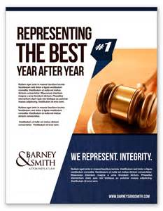 lawyer amp law firm flyer