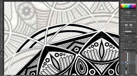 zentangle pattern illustrator zentangle illustrator