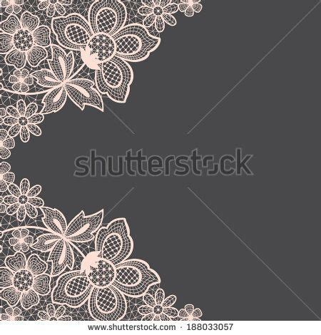 Simple Lace Template For Cards by Template Frame Design For Card Vintage Lace Doily Stock