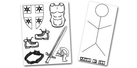 kids photo craft for cmad armor of god craft wesleyan