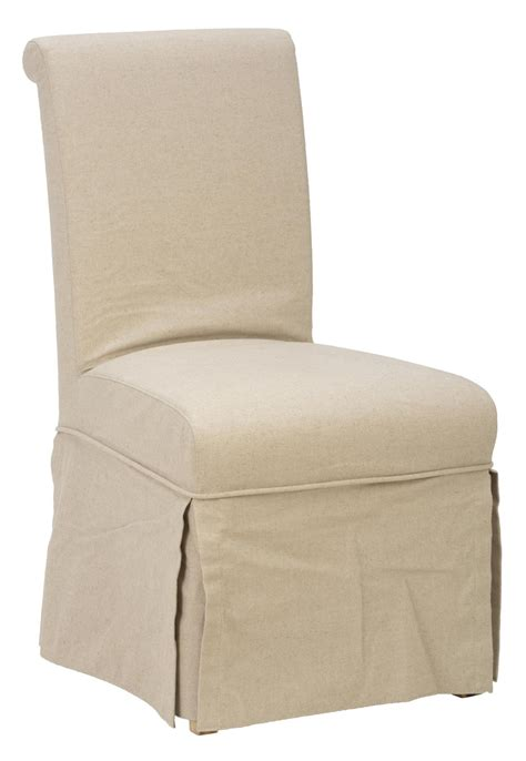 Cover Chair jofran 941 162kd slipcover skirted parson chair linen