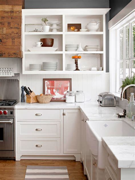 all white kitchen ideas bhg style spotters