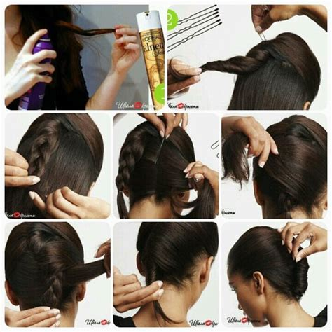 step by step french roll hair the easiest way to make a french twist alldaychic