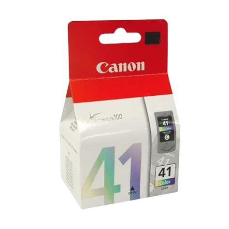 jual canon cl41 original ink cartridge color harga kualitas terjamin blibli