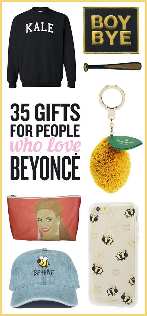 gifts for beyonce fans 35 perfect gifts for the beyonc 233 fan in your life