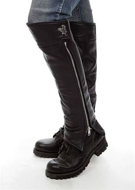 motorcycle half boots motorcycle half chaps biker gear clothing and
