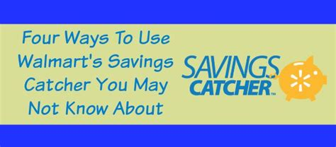 Savings Catcher Gift Card - four ways to use walmart s savings catcher you may not