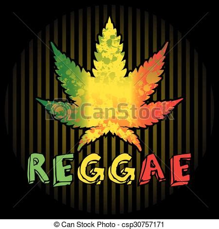 reggae background  leaf  cannabis  text