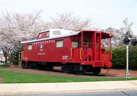 red caboose  stock photo public domain pictures