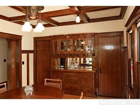 buffets in mn 1913 bungalow dining room built in buffet minneapolis mn