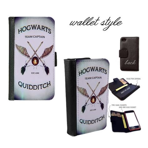 Slytherin Quidditch Iphone Semua Hp iphone and galaxy leather wallet harry potter hogwarts quidditch smartphone