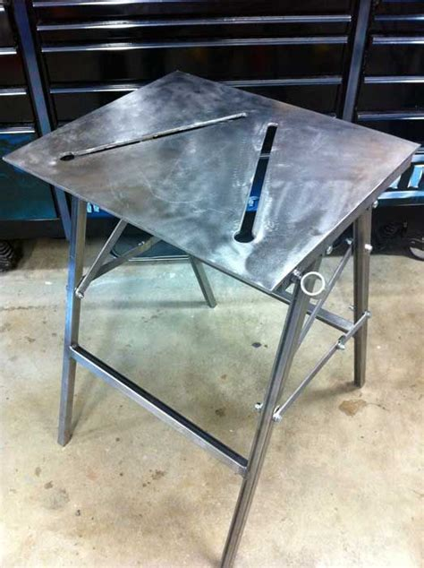 folding welding table welding table welding table diy