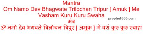 Vedic mantra for love marriage
