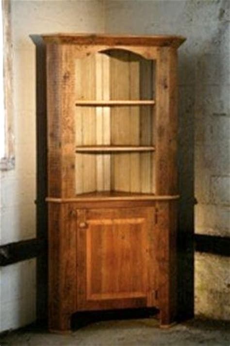 corner cabinet with open top rustic boston by