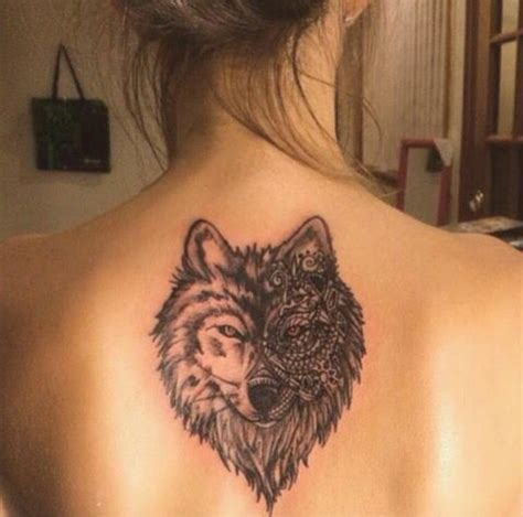tattoo back wolf 17 best ideas about mandala tattoo back on pinterest