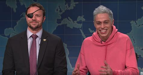 pete davidson youtube dan crenshaw mike huckabee applauds dan crenshaw pete davidson for