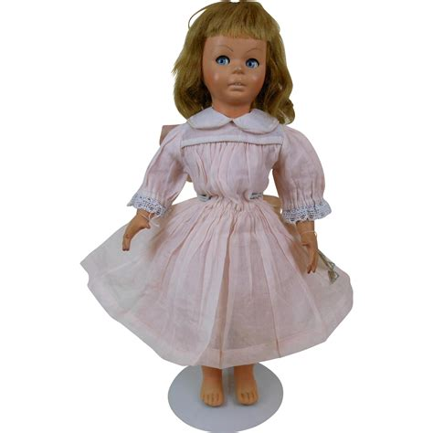 jointed doll dress 1940 s bonomi doll in pink dress with jointed waist