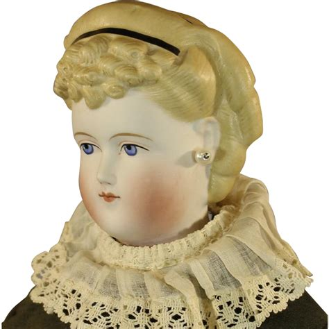 parian doll antique german parian doll from honeyandshars on ruby