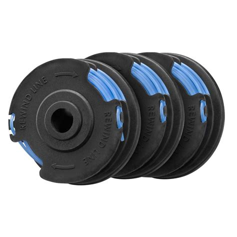 Ac General 3 4 Pk homelite electric string trimmer 065 in replacement spool 3 pack ac41rl3 the home depot