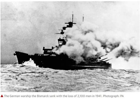 Where Did The Bismarck Sink by How Did The Germans Allow The Bismarck To Be Sunk By The
