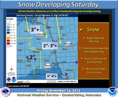 snow forecast lincoln ne snow expected saturday local journalstar
