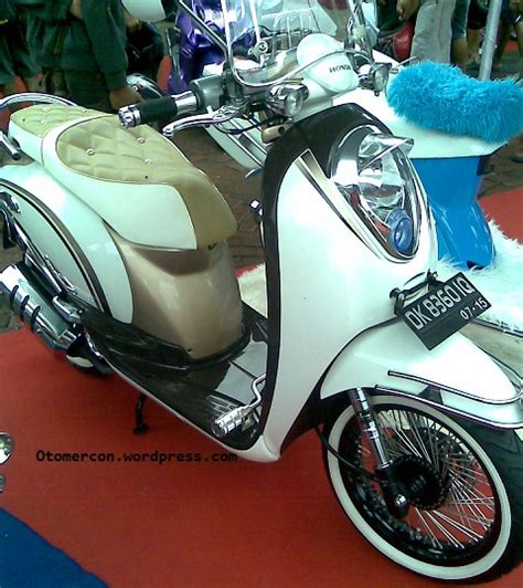 Modifikasi Motor Scoopy by Scoopy Modification From Bangkok Motor Show 20111