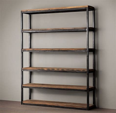 Regalsysteme Aus Metall by Best 20 Metal Shelving Ideas On